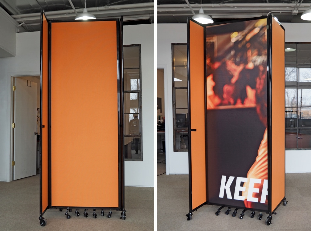 Versare Introduces Custom-Printed Room Dividers, Privacy Screens ...